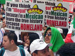 """Gran marcha"" for amnesty of illegal aliens, Los Angeles, March 25, 2006"